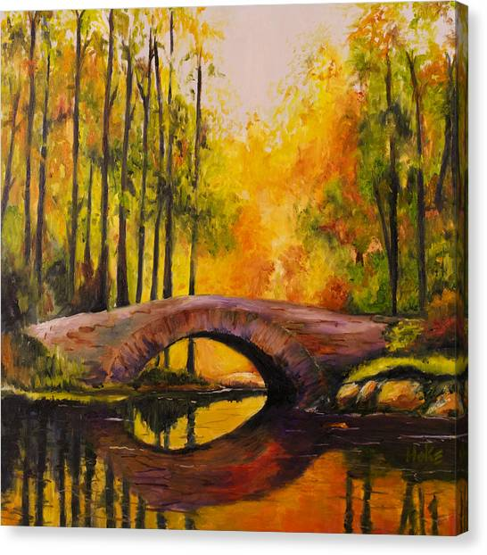 Stonebridge Canvas Print