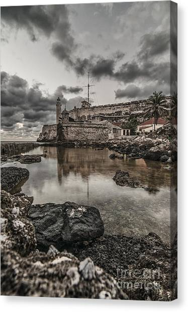 Stoned Morro Canvas Print