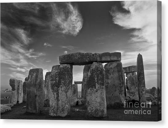 Stonehenge Historic Monument Canvas Print