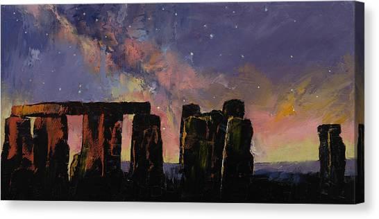 Stonehenge Canvas Print - Stonehenge by Michael Creese
