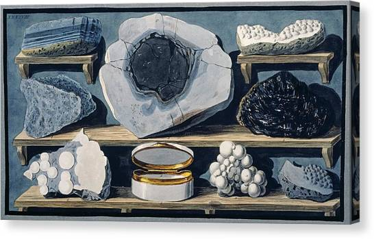Mount Vesuvius Canvas Print - Stones From Mount Vesuvius by Natural History Museum, London/science Photo Library