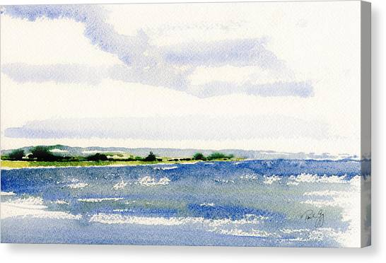 Stonington Point East Canvas Print