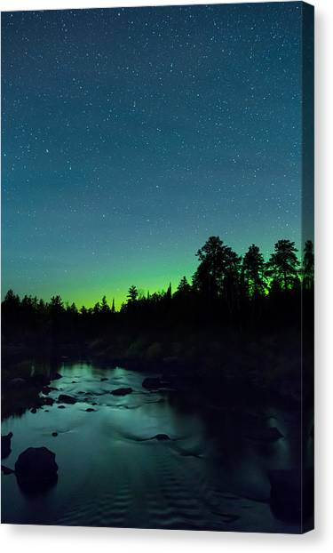 Stony River Stars Canvas Print