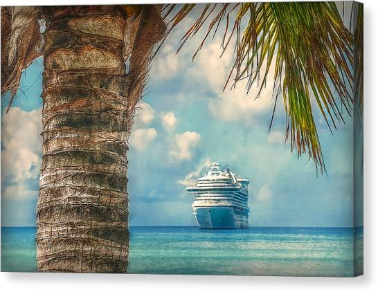 Stopover In Paradise Canvas Print