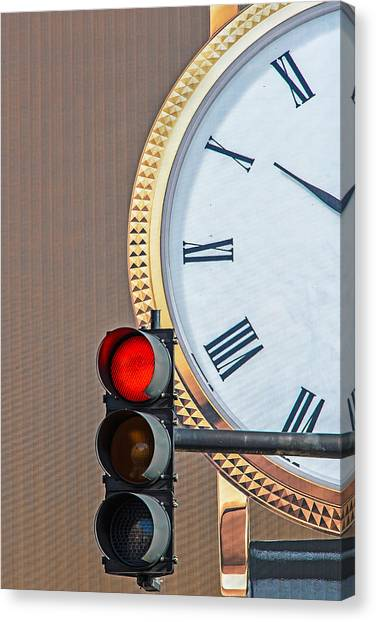 Stopping Time Canvas Print