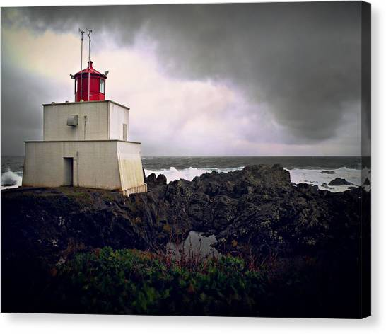 Storm Approaching Canvas Print