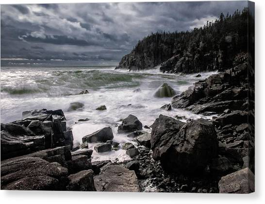 Storm At Gulliver's Hole Canvas Print