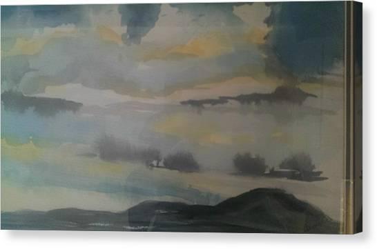 Storm Bay Canvas Print