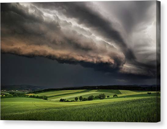 Storm Canvas Print - Storm by Burger Jochen
