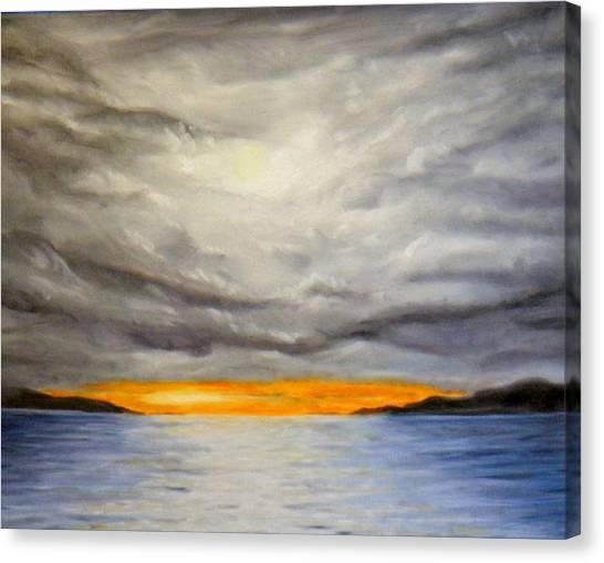 Storm Cloud Study Canvas Print