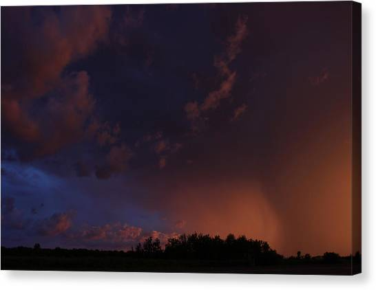 Storm Clouds Over Yorkton IIi Canvas Print