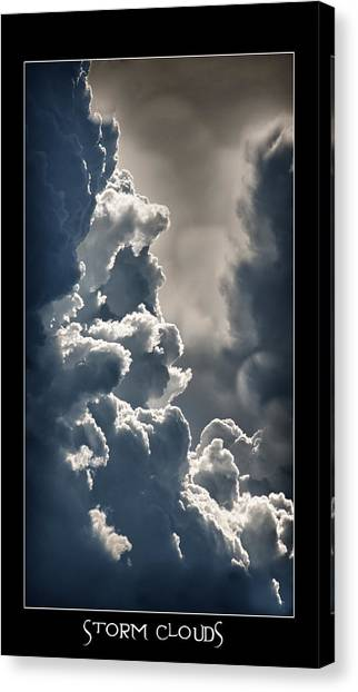 Storm Clouds  Canvas Print by Vincent Dwyer