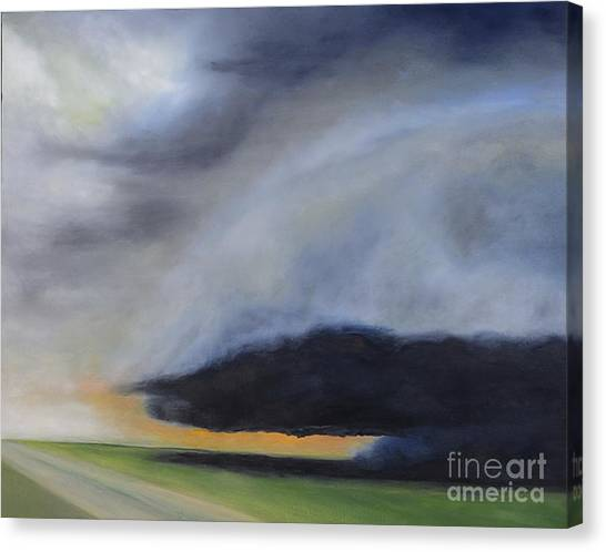 Storm Coming.. Canvas Print