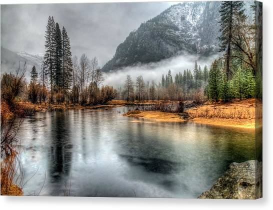 Storm In Yosemite Canvas Print