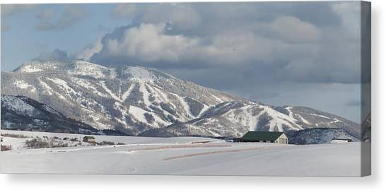 Storm Mountain Nw Face Canvas Print