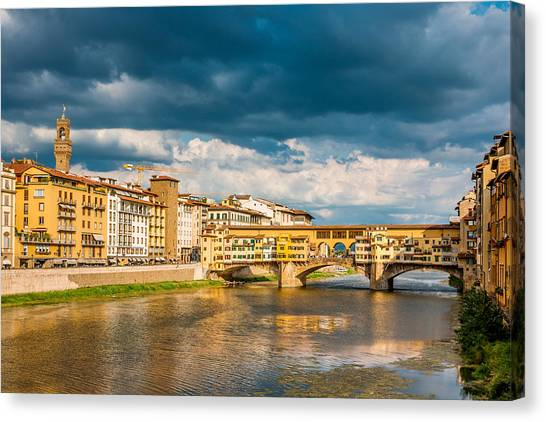 Storm Over Florence Canvas Print