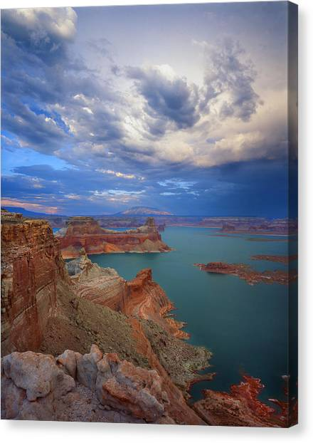 Storm Over Lake Powell Canvas Print