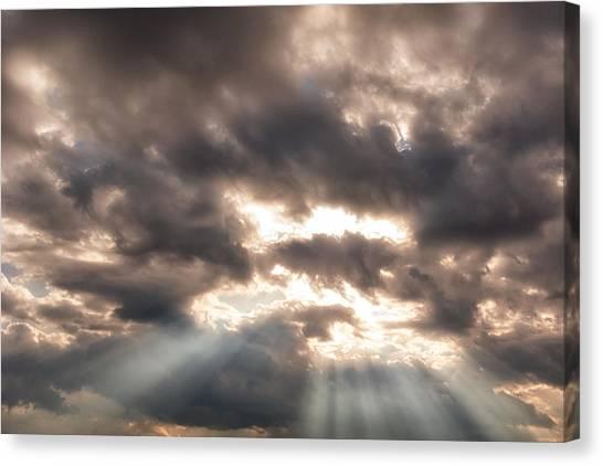 Storm Rays Canvas Print