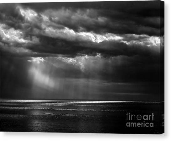 Storm Watching Canvas Print
