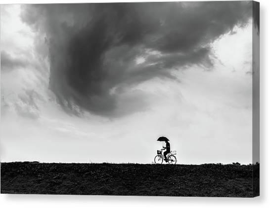 Cyclones Canvas Print - Stormbringer by Tetsuya Hashimoto