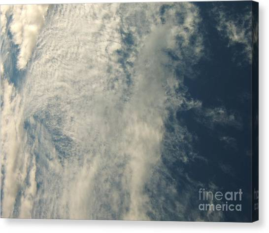 Storm's A-brewin' Canvas Print by Margaret McDermott