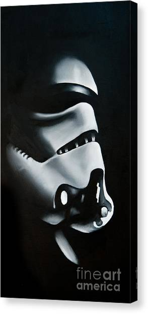 Stormtrooper Canvas Print - Stormtrooper by Clifton Llamas