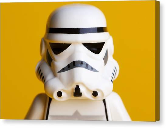 Star Alliance Canvas Print - Stormtrooper Portrait by Samuel Whitton