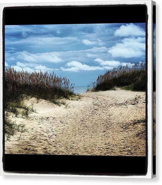 Seagrass Canvas Print - Stormy Day by Matt Yates