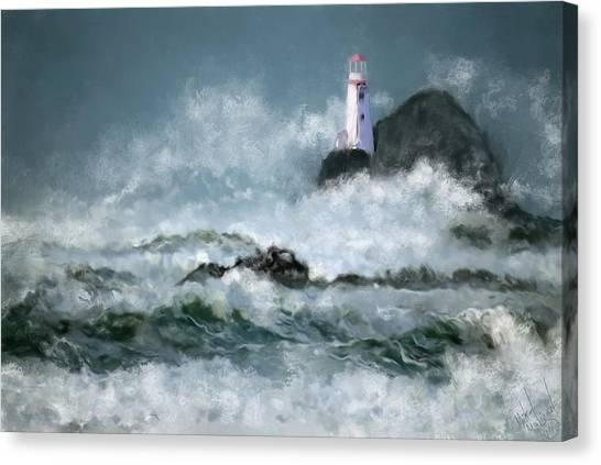 Stormy Seas Canvas Print