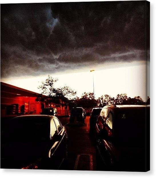 Apocalypse Canvas Print - Stormy Sky by Michael Gonzalez