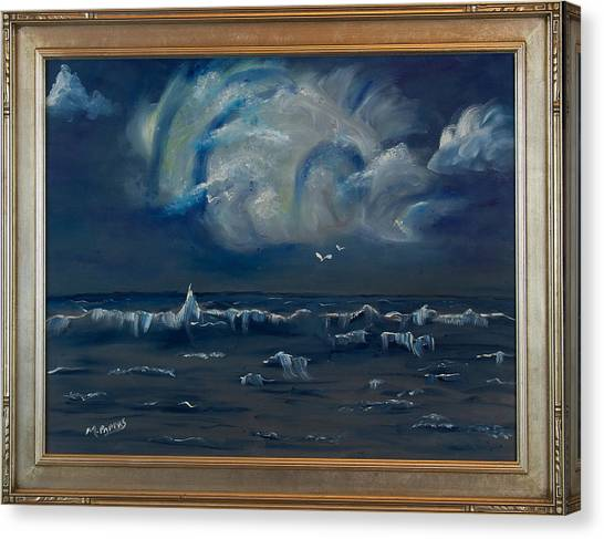 Stormy Weather Canvas Print by Margaret Pappas
