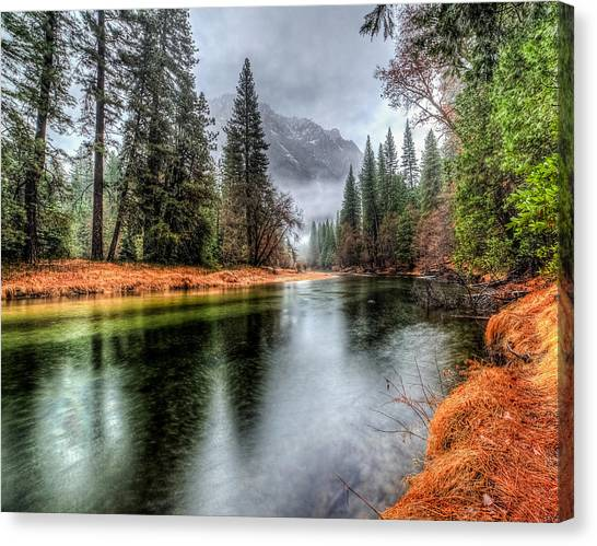 Stormy Yosemite II Canvas Print