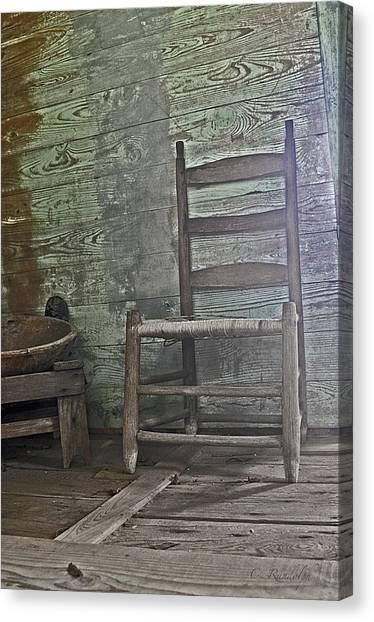 Story Chair Canvas Print by Cheri Randolph