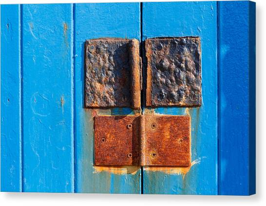 Story In Rust Canvas Print