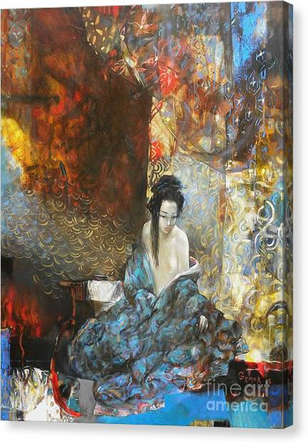Canvas Print - Story In The Chambers by Grigor Malinov