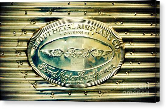 Stout Metal Airplane Co. Emblem Canvas Print