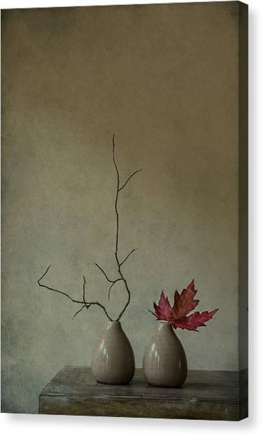 Branch Canvas Print - Strange Companions by Galina Bunkova