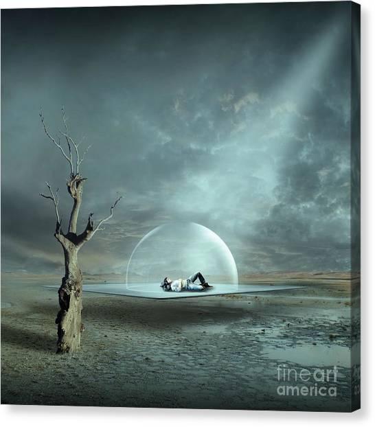 Beam Canvas Print - Strange Dreams II by Franziskus Pfleghart