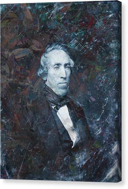 History Canvas Print - Strange Fellow 1 by James W Johnson