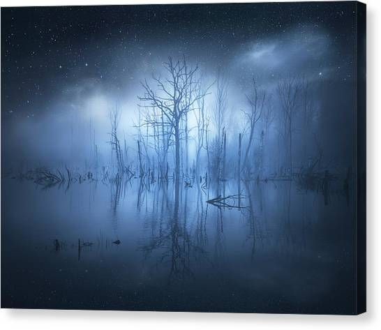Atmosphere Canvas Print - Stranger Things by Christian Lindsten