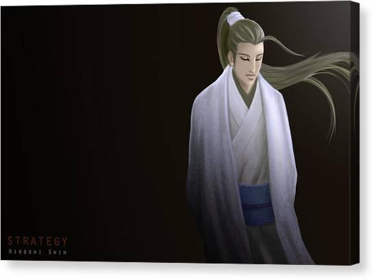 Strategy Ver.b Canvas Print by Hiroshi Shih