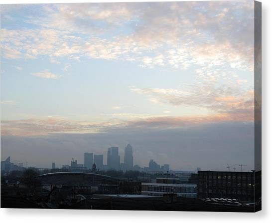 Canvas Print featuring the photograph Stratford 1 by Helene U Taylor