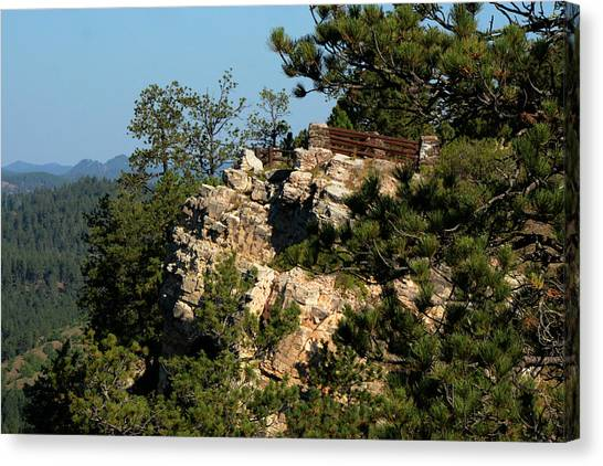 Stratobowl Overlook Canvas Print