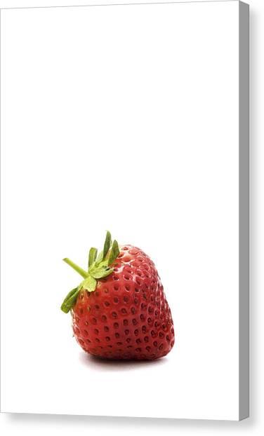 Strawberry Canvas Print by Natalie Kinnear