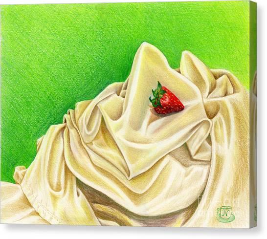 Strawberry Passion Canvas Print