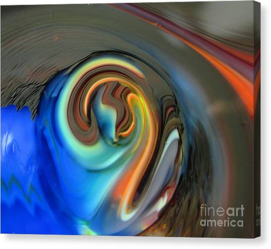 Streaming In Color Canvas Print