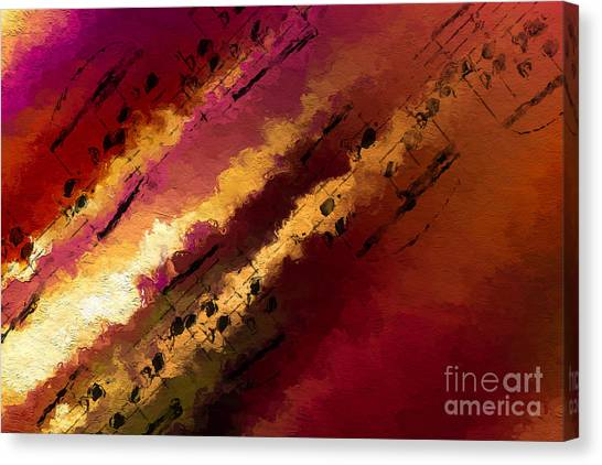 Streams Of Illumination Canvas Print