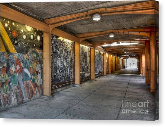Street Art Canvas Print by David Bearden