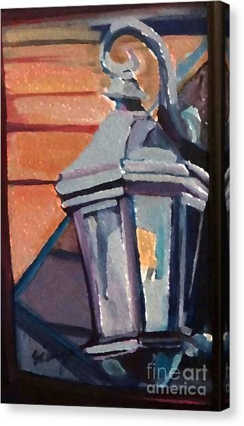 Street Lantern Canvas Print
