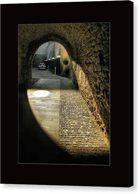 Street Photography - Romania Canvas Print